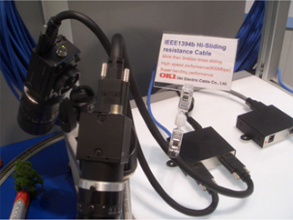 Oki Electric Cable S Presence In Vision2008 At Neue Messe